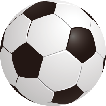 TenStickers. 3D Football Kids Stickers. Kids Stickers - Illustration of a black and white football.Ideal for decorating children's rooms and to introduce your child to the world of football.