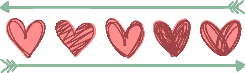 TenStickers. Sticker Mural Frise Saint Valentin. Découvrez comment décorer votre maison comme vous le souhaitez avec notre sticker frise conçu tout spécialement pour l'occasion.