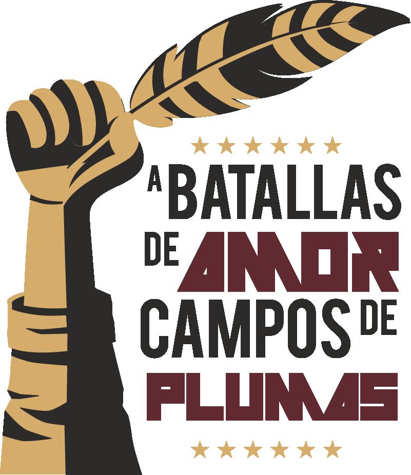 """TenVinilo. Sticker de amor Frase. Pegatina formada por la frase """"A batallas de amor, campos de plumas"""" del escritor José Manuel Caballero Bonald. Atención al Cliente Personalizada."""