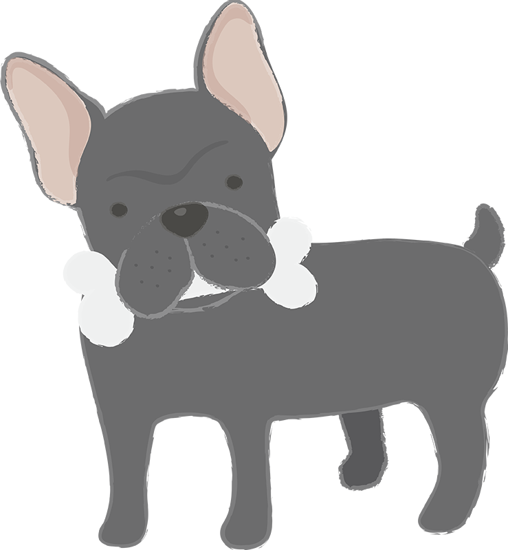 TenStickers. French Bulldog Wall Sticker. If you love French bulldogs and the magnificence and grace that they bring, then you might just love this animal wall sticker! Anti-bubble vinyl.