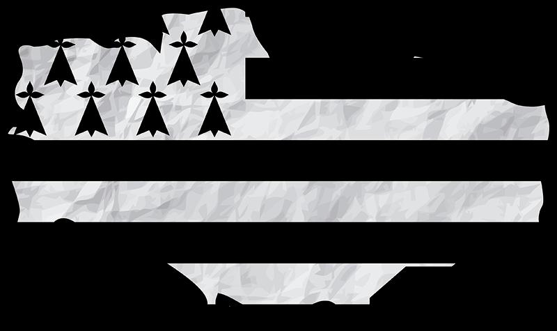 TenStickers. Sticker Maison Carte Bretagne. Ce sticker drapeau de la Bretagne donnera à votre intérieur une touche unique et original. Pour tous les amoureux de la Bretagne qui se respectent !