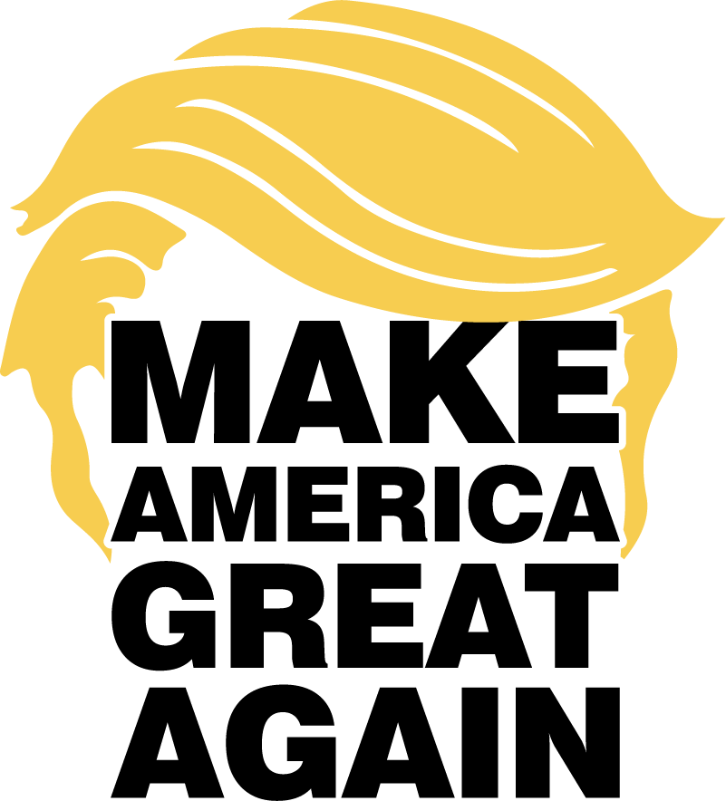 TenStickers. Trump MAGA Political Room Decor. Decorate your wall with this fantastic politically themed wall sticker, paying tribute to Donald Trump! Discounts available.