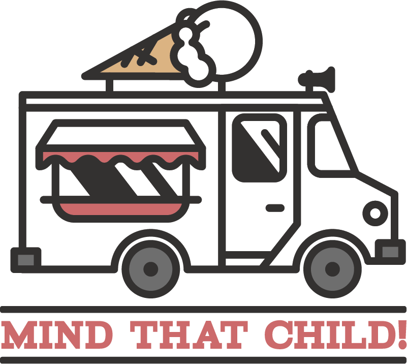 TenStickers. Mind that Child Vehicle Sticker. Decorate your vehicle with this fantastic mind that child sticker, an absolute necessity for all van drivers! Zero residue upon removal.
