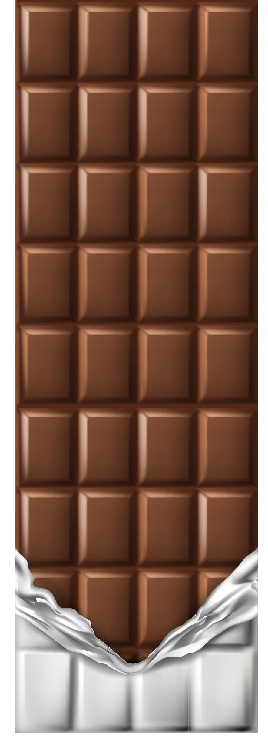 TenVinilo. Vinilo puerta barra de chocolate. Original vinilo adhesivo para puerta formado por el diseño de un tableta de chocolate. Compra Online Segura y Garantizada.