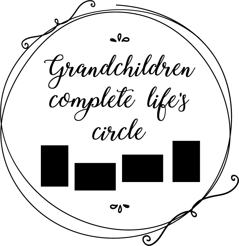 TenStickers. Circle of Life Customisable Wall Sticker. Decorate your home with this fantastic customisable wall sticker paying tribute to the wonder of grandchildren! Easy to apply.