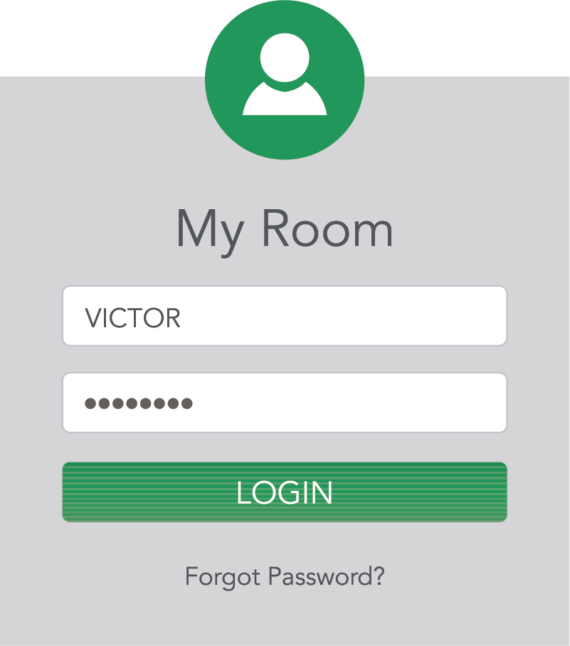 TenStickers. Login and Password Door Sticker. Add a customisable, secure touch to your bedroom door with this login and password themed door sticker! Extremely long-lasting material.