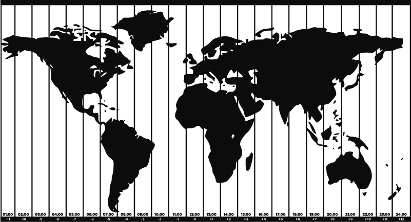 TenStickers. Adesivo murale mappa mondo fusi orari. Aggiungi un meraviglioso adesivo per la mappa del mondo a qualsiasi parete della tua casa mentre impari anche sui vari fusi orari del mondo! Scegli la tua taglia.