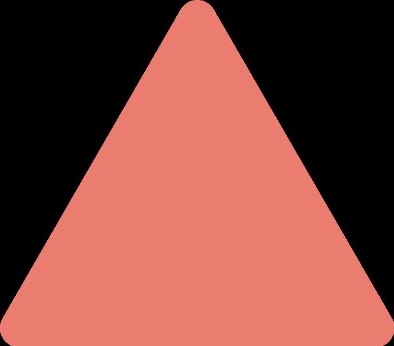 TenVinilo. Vinilo habitación juvenil set de triangulos living coral. Original patrón adhesivo formado por 49 triángulos en tonos Living Coral ideales para decorar o renovar una estancia. Descuentos para nuevos usuarios.