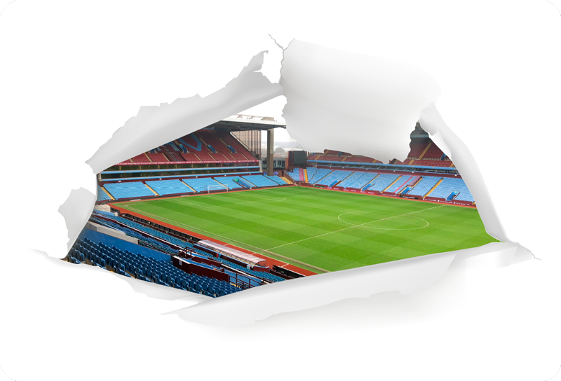 TenStickers. Villa Park Laptop Sticker. An absolutely wonderful football themed laptop sticker, depicting the gloriously historic stadium that is Villa Park! Easy to apply.