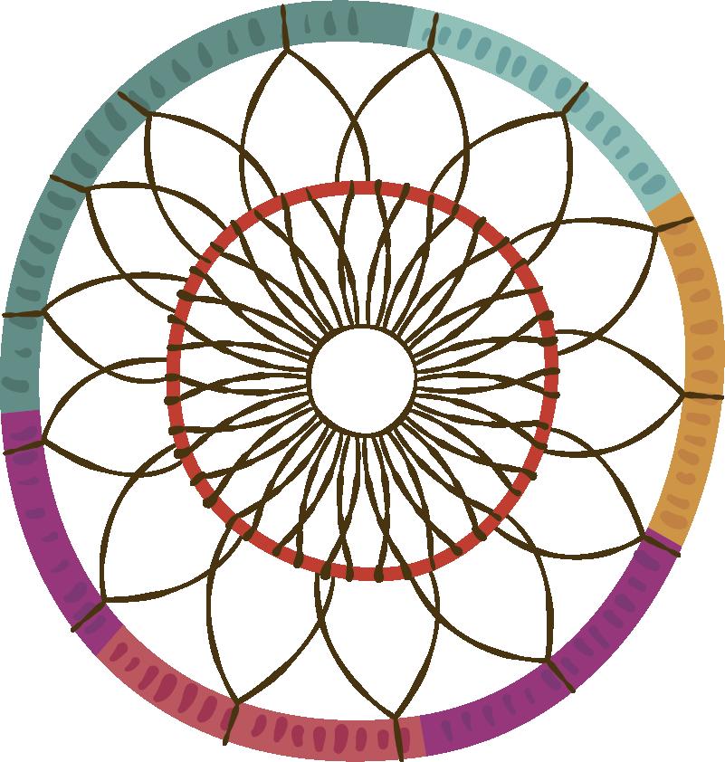 TenStickers. Sticker Maison Mandala Boho style. Envie de décorer ses murs d'un sticker mural abstrait ? Cet autocollant mural dessin de mandala style boho vous ravira !