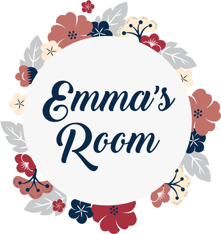 TenStickers. Flower Crown with Text Door Sticker. Decorate your bedroom door with this fantastic customisable, floral themed door sticker, perfect for any bedroom! Personalised stickers.
