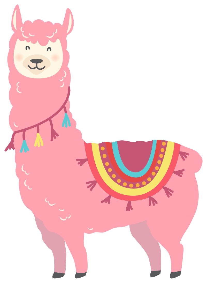 TenStickers. Autocollant Ordinateur Llama rose. Le llama rose tout adorable de ce sticker pour ordinateur portable vous donnera chaque jour un peu plus le sourire ! +10.000 Clients Satisfaits.