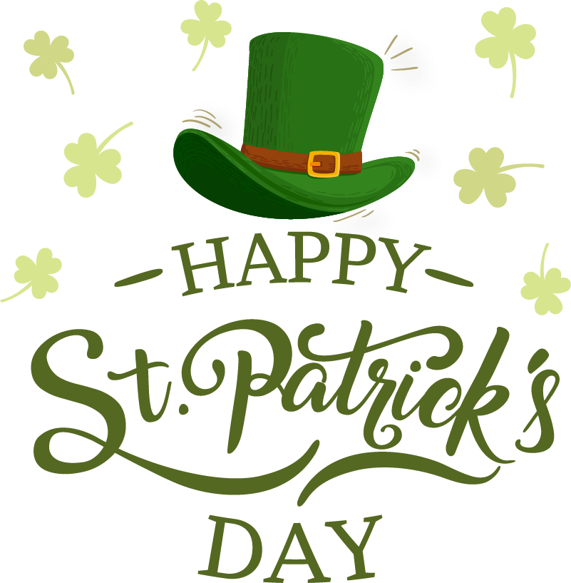 TenStickers. Happy St Patrick´s Day Window Sticker. Decorate your shop window with this superbly celebratory piece of seasonal decor, dedicated to St Patrick´s Day! Choose your size.