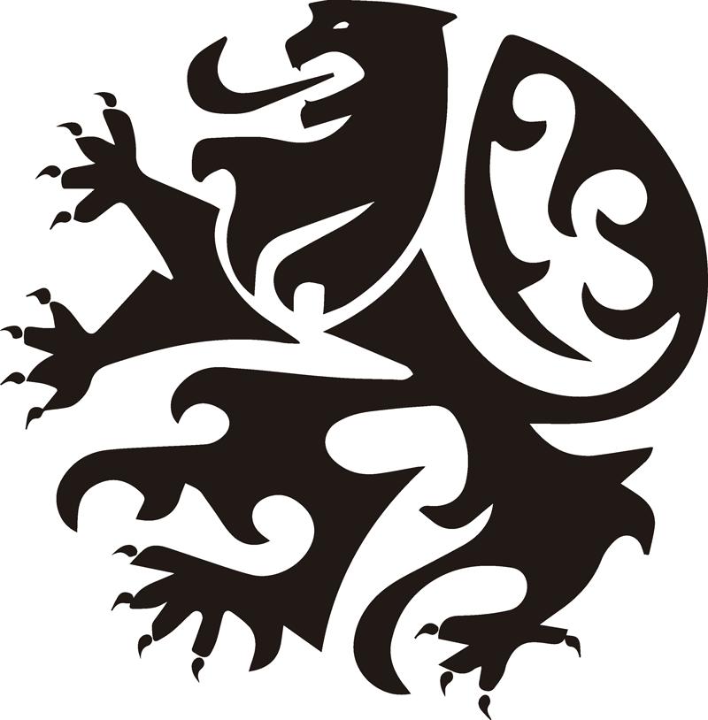 TenStickers. Muurdecoratie stickers Vlaamse leeuw logo. Vlaamse leeuw muursticker logo! Belgie leeuw sticker zijn makkelijk en snel! Vlaamse muurstickers zijn ideaal voor iedere kamer in huis!