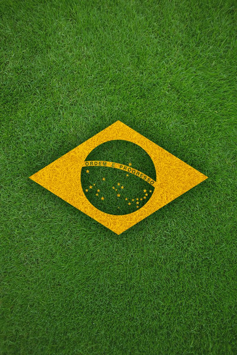 TenStickers. bandeira brasileira decorativa. Autocolantes decorativos fotomurais. Vinil autocolante fotomurais. Vinil fotomural. Autocolante com fotomurais. Adesivos fotomurais.