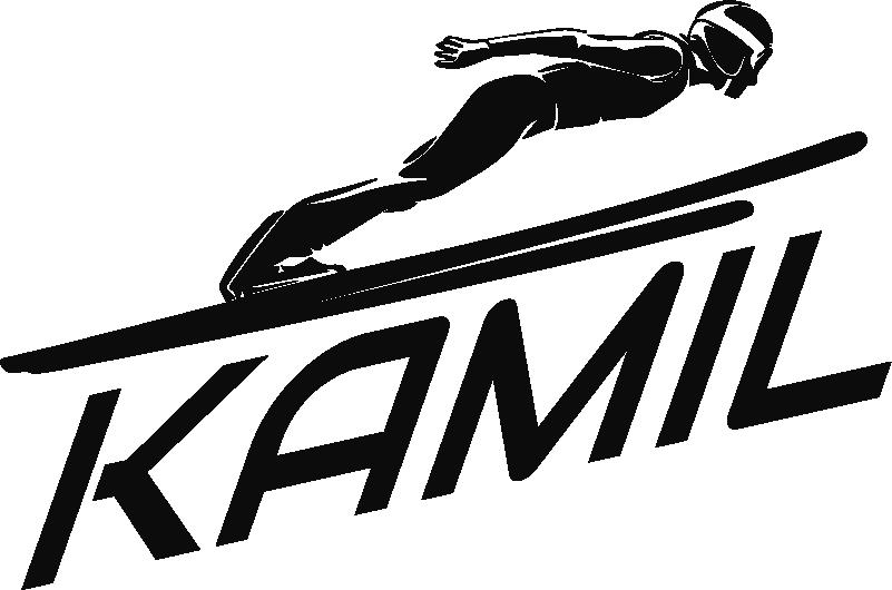 TenStickers. Naklejka z rysunkiem Skoczek narciarski z imieniem. Marzysz o oryginalnej dekoracji ściennej dla dziecka? Naklejki dla dzieci skoki narciarskie to ciekawy pomysł, aby oryginalnie ozdobić pokój dziecięcy