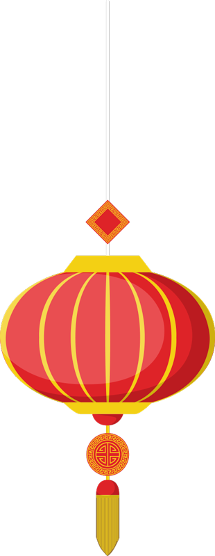 TenStickers. Chinese lantern oriental wall decor. Chinese oriental lantern wall art sticker to decorate the home and office space. Easy to apply and available in any required size.