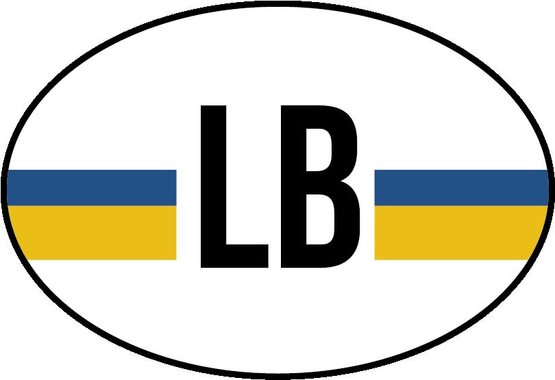 TenStickers. Autostickers vlag Limburg. Vlag Autostickers en autostickers vlaggen voor auto van verschillende provincies zoals Limburg vlag sticker en Lumburg vlag autostickers!
