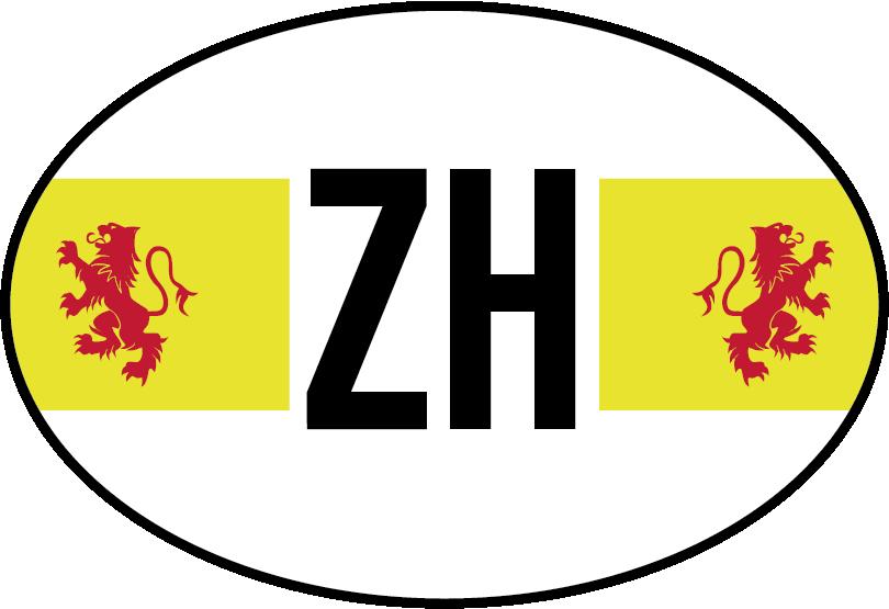 TenStickers. Autostickers vlag Zuid Holland. Provincie vlag Autostickers en autostickers vlaggen voor autobumpers/autoruiten. Bijvoorbeeld: Zuid holland vlag sticker en Zuid Holland autostickers!
