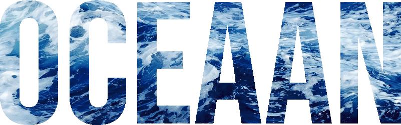 TenStickers. Muurstickers tekst Een oceaan. Deze muursticker is perfect voor liefhebbers van de zee die hun huis een speciale touch willen geven met hoge kwaliteit vinylstickers.