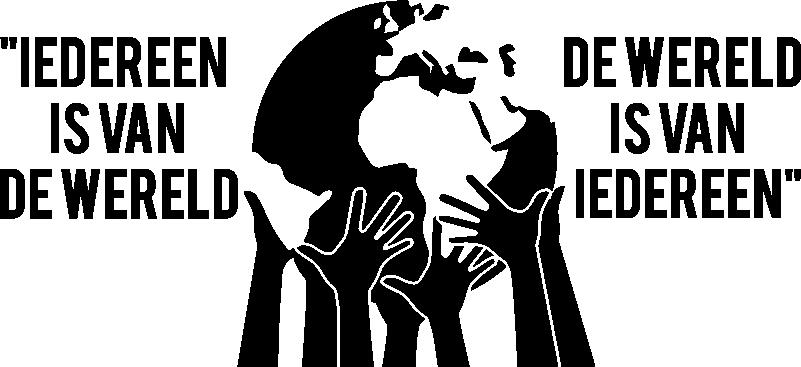 TenStickers. Muurstickers tekst Iedereen is van de wereld. Deze spreekwoord muursticker is een goede herinnering over gelijkheid en teamwork. Deze wandsticker is ideaal voor motivatie.