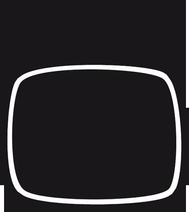 TenStickers. Sticker ardoise à craie télé rétro. Sticker ardoise à craie représentant un poste de télévision avec deux antennes. Super idée déco pour personnalisation des murs de la chambre d'enfant.