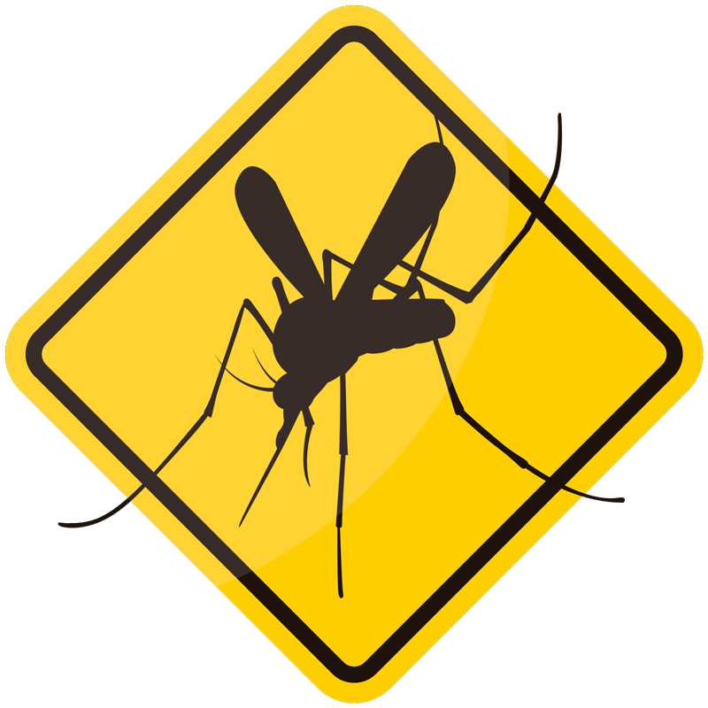 TenStickers. Sticker Mural Attention Moustiques. Attention aux moustiques cet été ! Prévenez tout le monde de ce danger estival grâce au panneau improvisé de ce sticker de signalisation.
