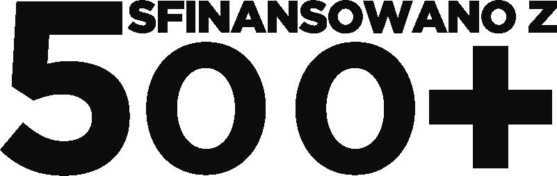 """TenStickers. Oklejanie samochodów Sfinansowano z 500+. Chcesz udekorować auto w inny sposób? Nasze naklejki samochodowe z napisem """"Sfinansowano z 500+"""" pozwolą Ci to zrobić w niezwykle oryginalny sposób."""