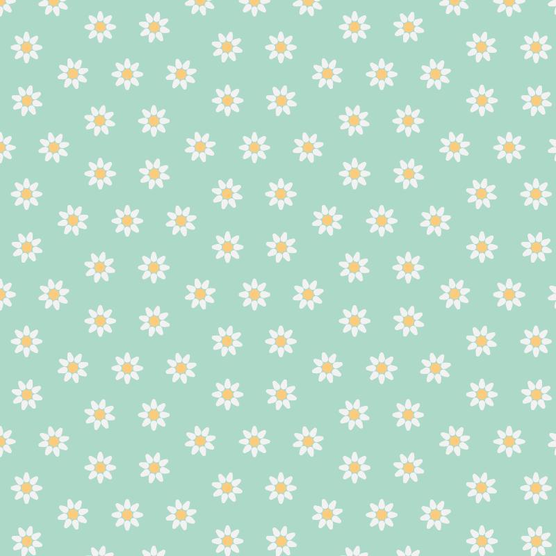 TenStickers. Sticker Pour Meuble Dessins Marguerites. Voici de jolis dessins de marguerites qui embelliront à merveille les meubles de votre maison grâce à ce sticker pour meuble.
