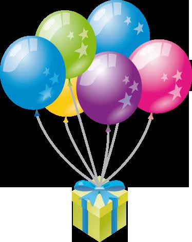 TENSTICKERS. カラフルな風船のステッカー. 子供向けのカラフルなステッカー。自宅で小さなものを扱い、部屋や誕生日パーティーを飾るのに最適な壁用ステッカー。
