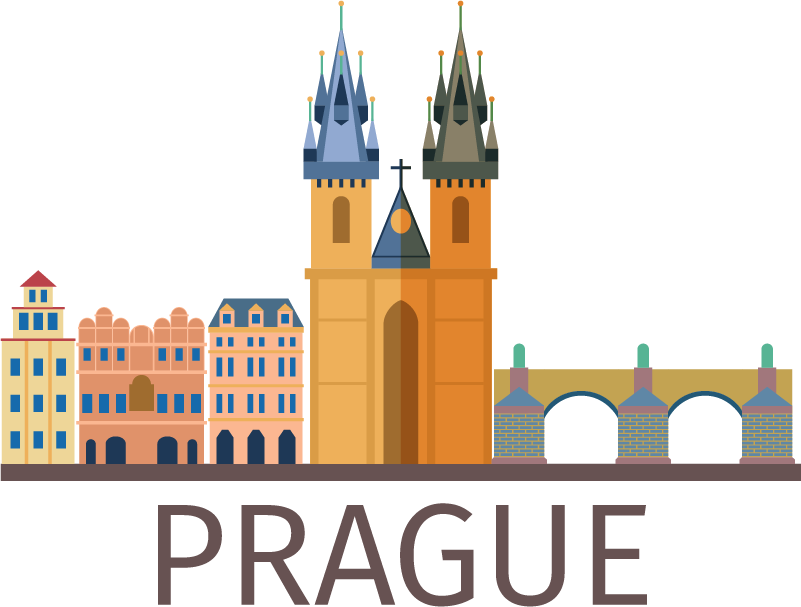 TenStickers. Prague Skyline Colour Wall Sticker. Decorate your wall with this fantastic travel wall sticker, inspired by the amazing Czech city of Prague! Available in 50 colours.