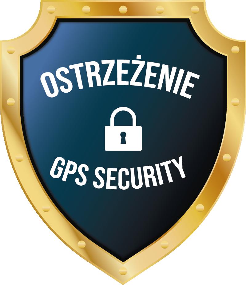 """TenStickers. Naklejka na ścianę napisy Ostrzeżenie GPS Security. Chcesz udekorować auto w inny sposób? Nasze naklejki samochodowe z napisem """"Ostrzeżenie - GPS Security"""" pozwolą Ci to zrobić w oryginalny sposób."""