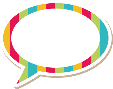 TenStickers. Personalised Comic Sticker. Customisable sticker of a comic speech bubble for the little ones at home. Perfect decal to personalise your child's room.