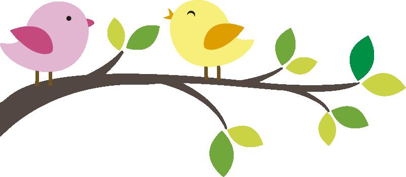 TenStickers. Muurstickers dieren vogeltjes op takje. Leuke muurstickers vogeltjes voor in de kinderkamer. Stop contact muurstickers of stop contact muur decoratie van volgetjes op een takje!