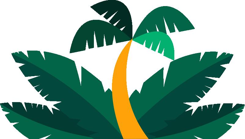 TenStickers. Palmblätter Baum Natur Wandtattoo Lichtschalter. Dekorative Palmen Lichtschalter Aufkleber. Die ideale Dekoration für alle Schalterabdeckungen im Haus. Einfach aufzutragen und zu kleben.