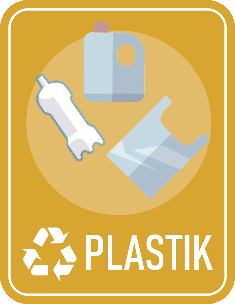 TenStickers. Naklejka na ścianę różne oznaczenia Segregacja plastiku. Użyteczne naklejki na kosze do segregacji plastiku z pewnością pomogą Ci i innym odpowiednio segregować odpady zarówno w domu jak i w firmie.