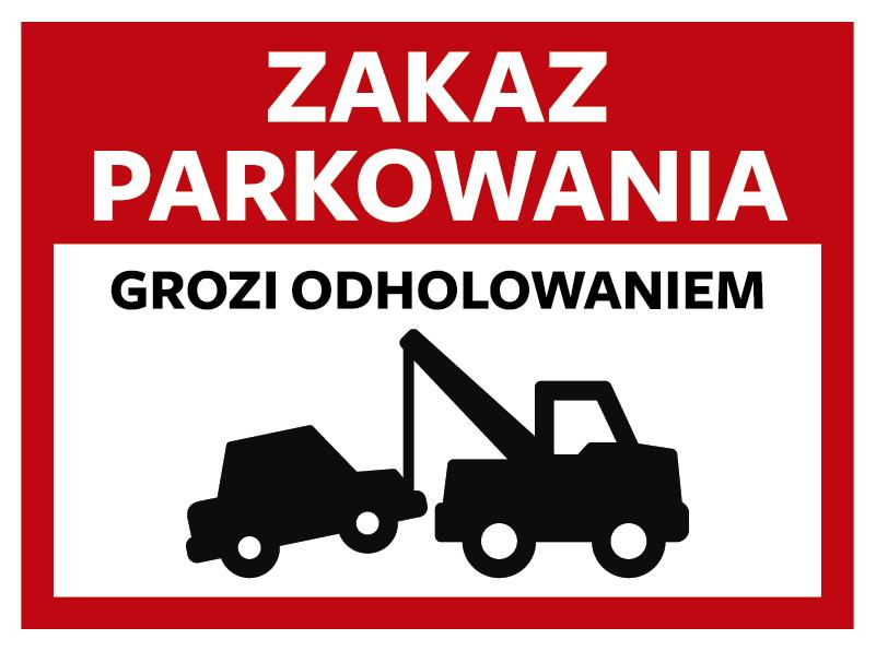 TenStickers. Naklejka na ścianę różne oznaczenia Zakaz parkowania. Ostrzegawcza naklejka mówiąca o odholowaniu pojazdu w przypadku zaparkowania w niedozwolonym miejscu. Sprawdź nasze naklejki ikony i oznaczenia.