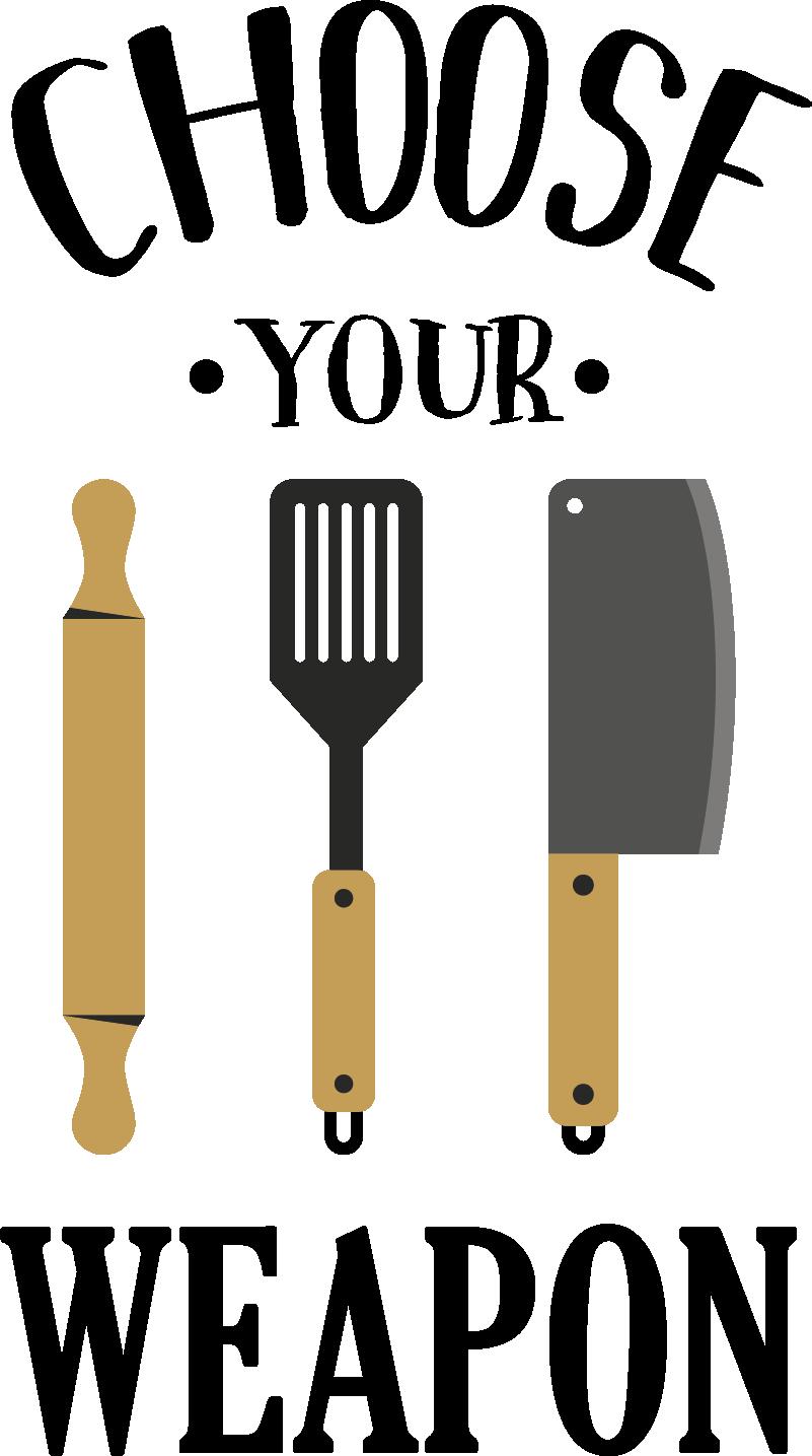Tenstickers. Valitse aseesi koditeksti seinätarra. Keittiön seinätarra, jossa on keittotavaroiden malli, joka tuo elämään tilaa. Saatavana erivärisinä ja -kokoisina.