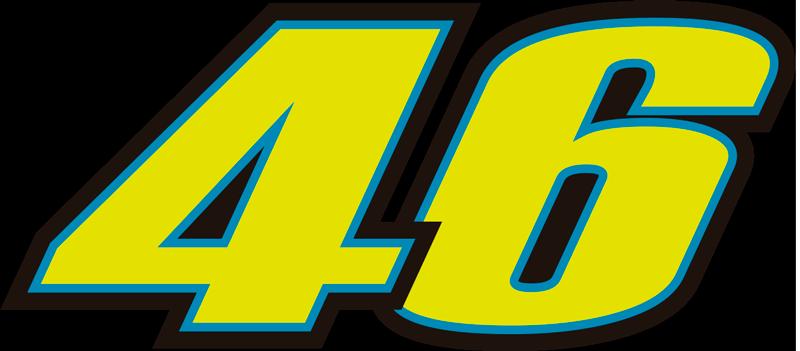 TENSTICKERS. ロッシナンバー(サムスン)デカール. ロッシ番号46のデカールは、サムスンの電話をバイクレースの有名なスター番号で装飾します。適用が簡単で耐久性に優れています。