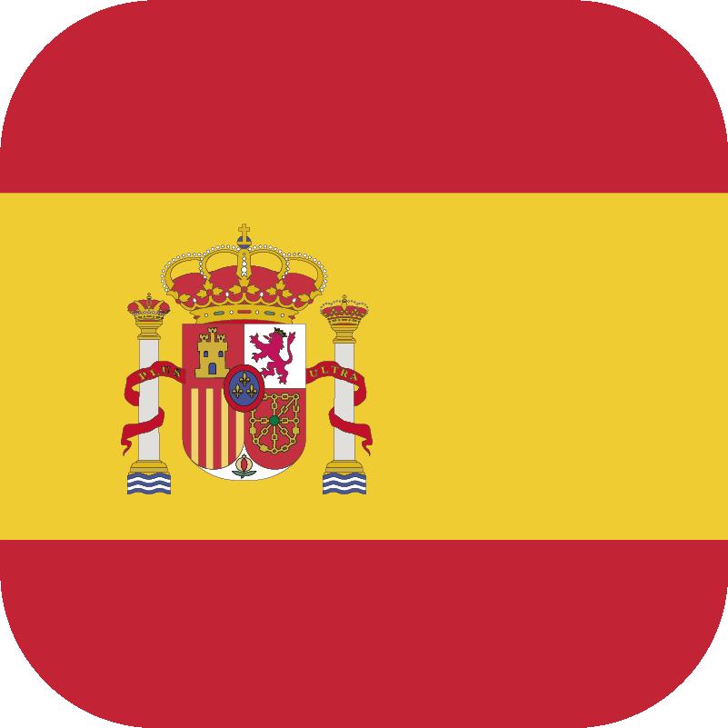 Pegatina De La Bandera De España Tenvinilo
