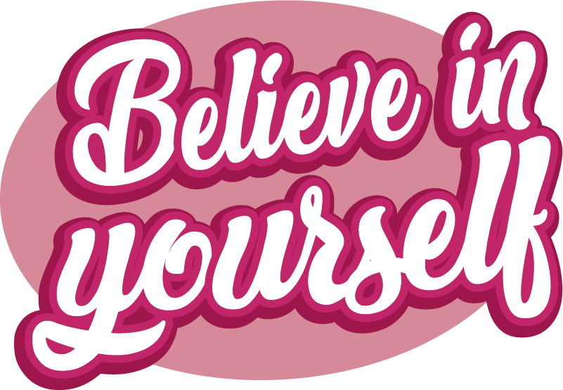 TenStickers. Believe in Yourself Huawei Sticker. Remember to always believe in yourself with this fantastic mobile sticker, constructed especially for the Huawei! Available in 50 colours.