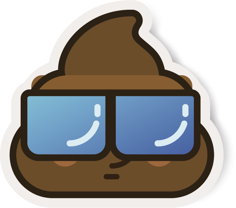 TenStickers. Poo Whatsapp Huawei Sticker. Add some poo to your phone with this hilariously cool phone sticker - Tailor made for the amazing Huawei! +10,000 satisfied customers.
