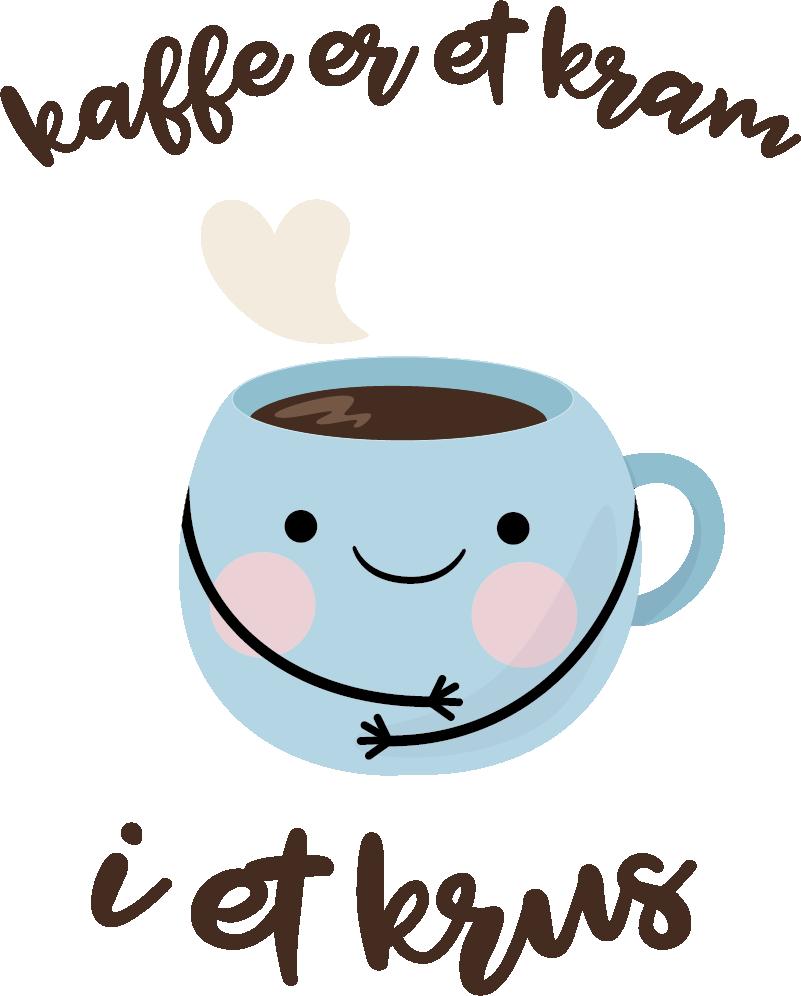 TenStickers. Kaffe smiley hjemmemarked klistermærke. En sød kaffe smiley sticker! Denne kaffe wallsticker er en perfekt til en restaurant, køkken eller spisestue! Nyd denne smiley wallsticker!