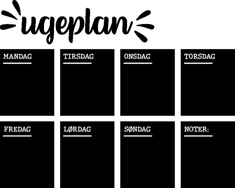 TenStickers. Ugentlige planlægning hjemmeplade klistermærke. Du kan nu skrive alle dine planer for aldrig at glemme noget takket være denne tavleklister: ideel til at organisere dit daglige liv.