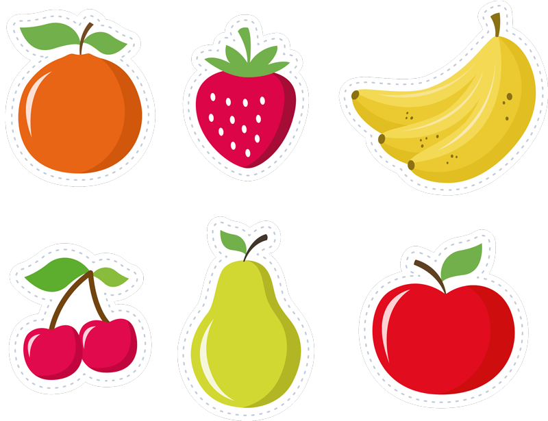 TenStickers. Fruit Set iPhone Sticker. Do you love fruit! Do you love it enough to apply it to your phone? Well then this iPhone sticker might just be perfect!