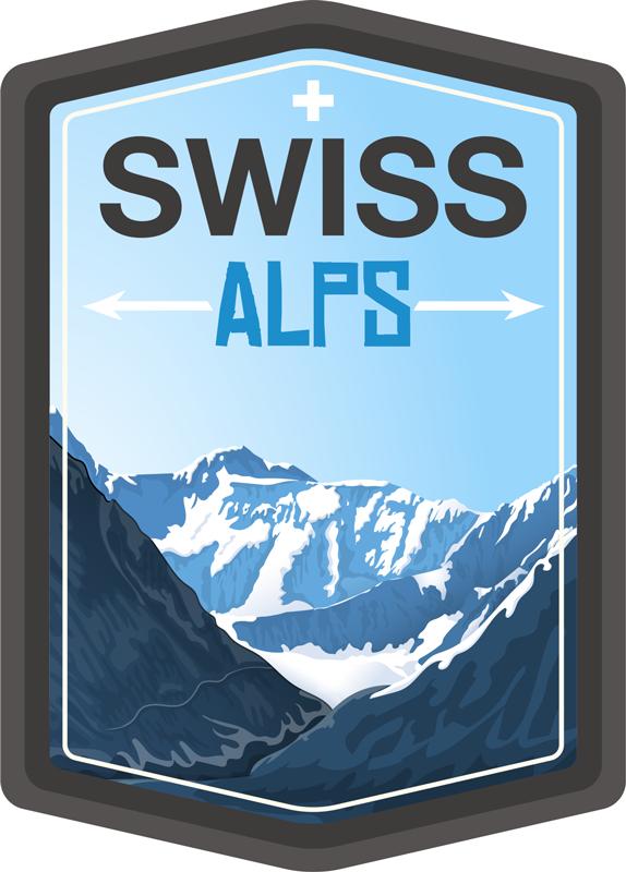 TenStickers. Text Aufkleber Schweizer Alpen. Können Sie nicht genug von dem Ausblick auf Berge, besonderst die Alpen, haben? Wir auch nicht! Deshalb haben wir ein besonderen Sticker für Sie!