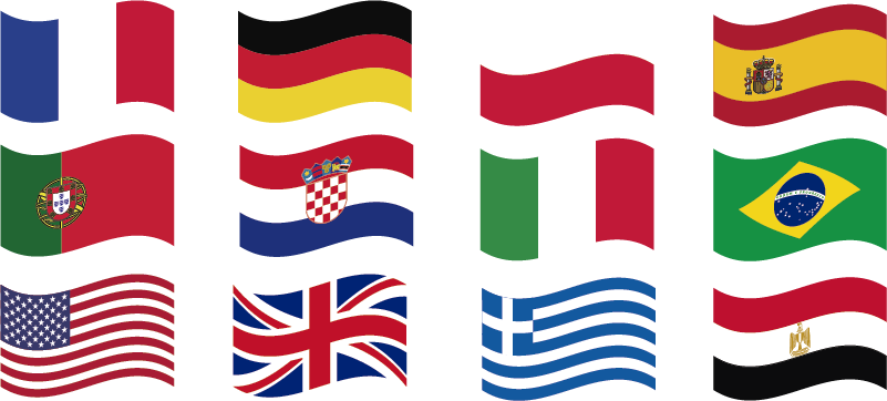 TenStickers. Mini World Flags stickers. Show the world how well travelled you are with these awesome mini world flag stickers. Choose from a wide variety of sizes!