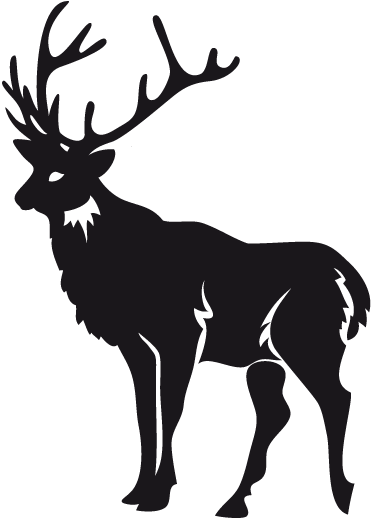 TenStickers. Muursticker eland. Deze muursticker van een eland is een leuk idee ter decoratie en personalisatie van uw woning. Kleur en formaat aanpasbaar. Ook voor ramen en auto's.