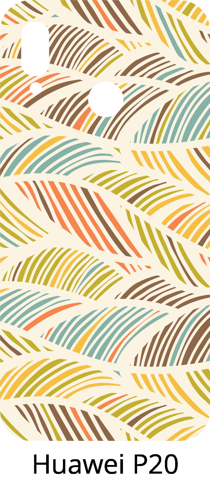 TenStickers. Sticker Dessin Motifs de Fleurs. Ce sticker fleurs possède des motifs légers et des couleurs pastels qui rappellent le printemps : parfait pour illuminer le dos de votre Huawei !
