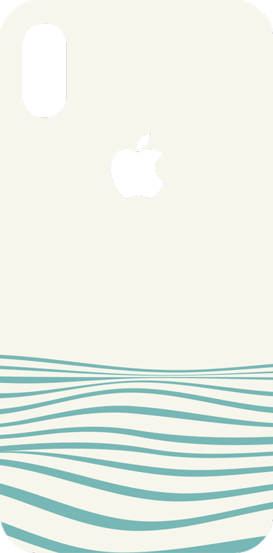 TenStickers. Abstract waves (iphone) iPhone decal. Buy our decorative iPhone vinyl sticker with the design of abstract waves. Easy to apply and self adhesive. Choose the size that model perfectly.